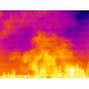 Aplicatii camere termografice in Incendii